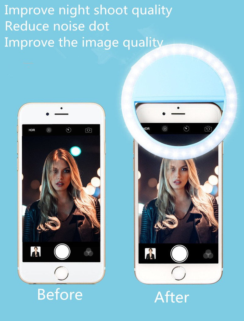 NEW ARRIVAL!!! Powerful and Portable Selfie Light Ring-Use With Your iPhone or Android Smartphone