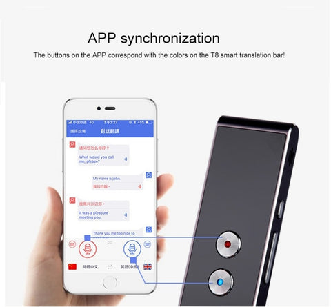 Image of BEST Voice Speech Translator Makes Real Time Two-Way Translation Super Quick & Easy Every Time!