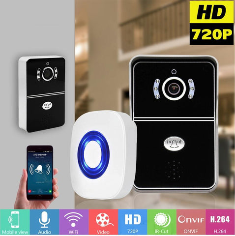 Image of WIFI Video - Audio Doorbell Adds High Tech Safety Technology To Your Home