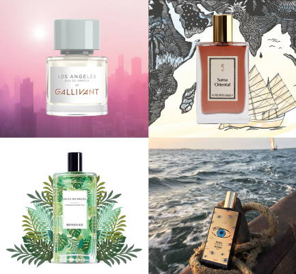 TRAVEL-INSPIRED PERFUME BRANDS YOU NEED TO KNOW (ESPECIALLY WHILE STAYING HOME)