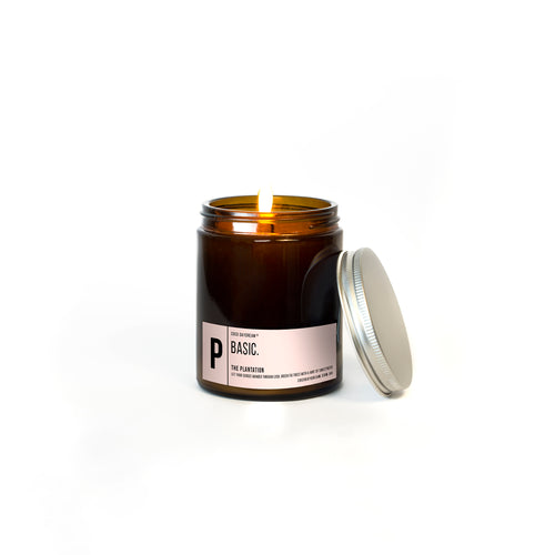 Basic Candle. P - The Plantation