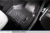 Maxfloormat® Pisos Calce Perfecto DODGE RAM 1500/2500 Crew Cab Old Model