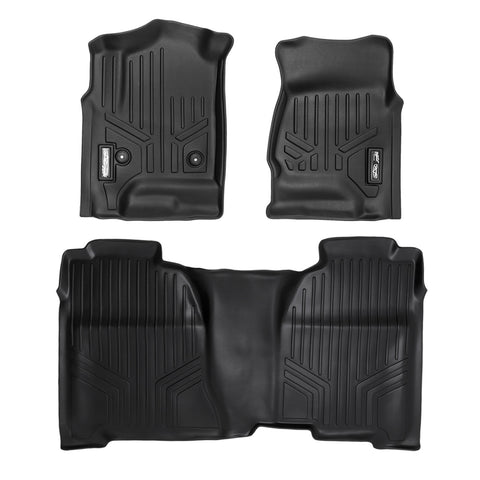 Maxfloormat® Pisos Calce Perfecto Chevrolet Silverado 2014-2019 (Old Model)