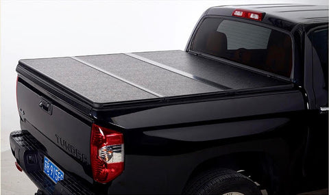 TAPA PLEGABLE RÍGIDA CHEVROLET SILVERADO DOBLE CABINA 2008-2019 (Old Model)