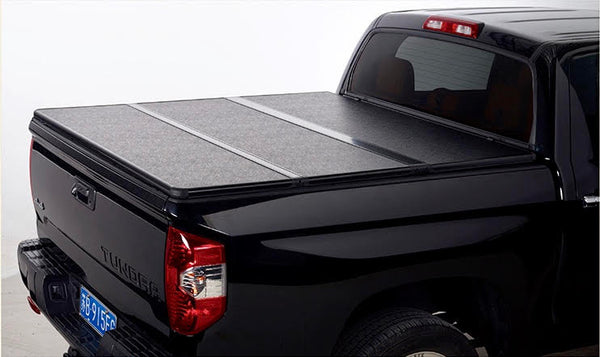 TAPA PLEGABLE RÍGIDA FORD F150 DOBLE CABINA 2015-2021