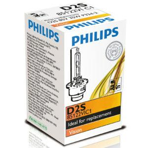AMPOLLETA XENON PHILIPS D2S 85122VIC1 Ampolletas Xenn Philips Ampolletas Xenn Iluminacin Philips