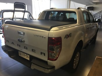 CAPOTA MARTIMA FORD RANGER LIMITED D/C 2013-2018 EX179SSF Capota Martima Flash Cover Capotas Maritimas Flash Cover Ford Ranger Ford Ranger Limited 2013-2018 Lonas Maritimas