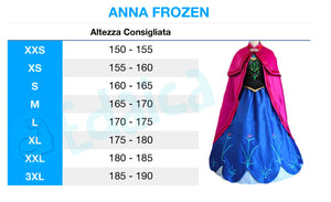 Anna Frozen cosplay