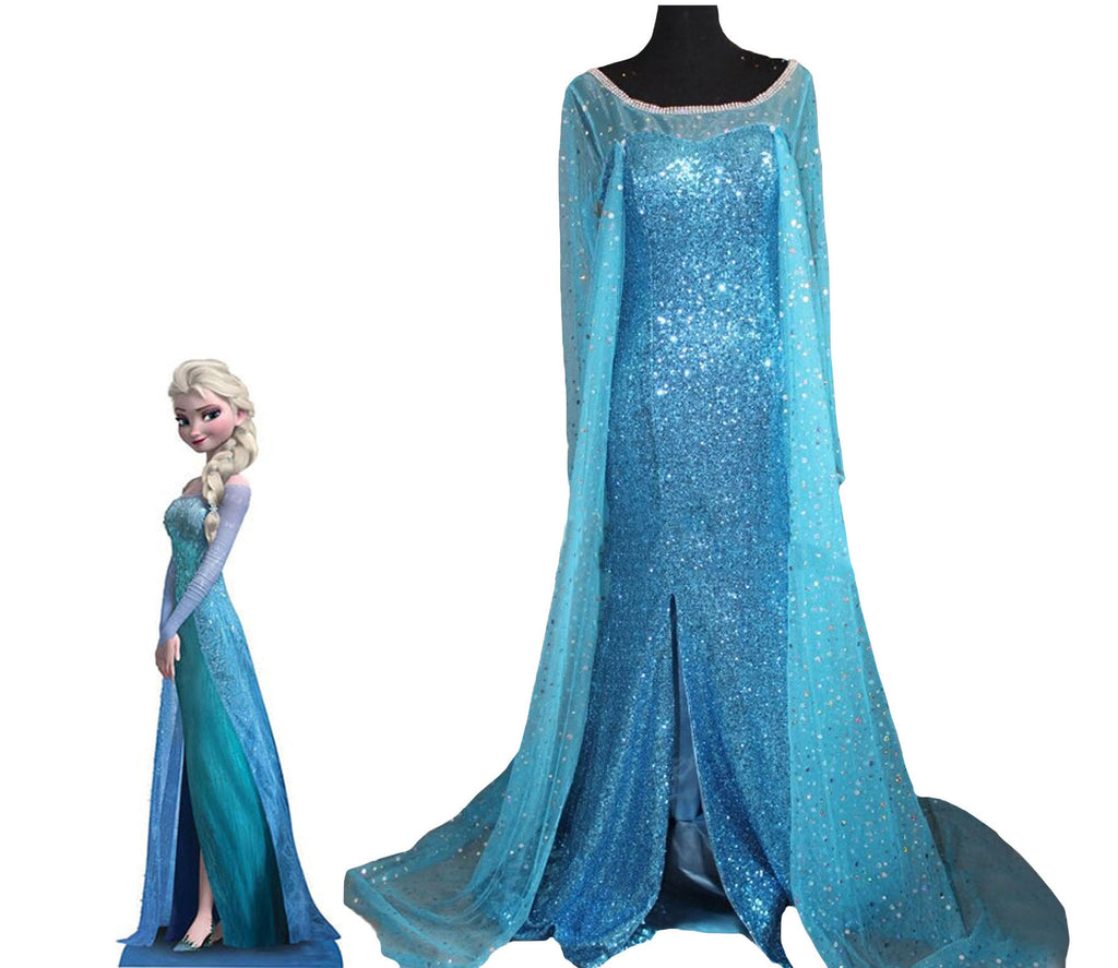 Elsa Frozen cosplay