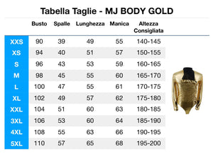 MJ body gold - Edaica