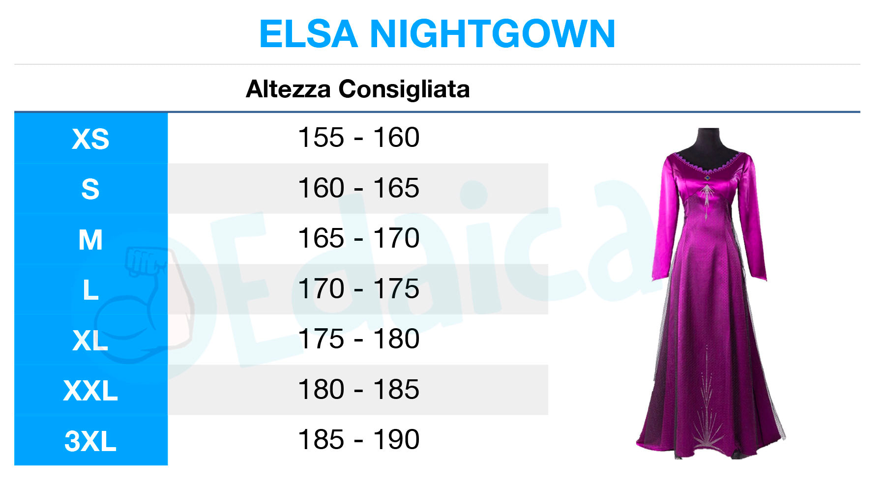 Elsa Nightgown