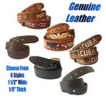 Continental Limited Top Grain Genuine Leather Belts for Men