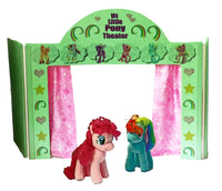 My Little Ponies & Friends Show Stage Theater Toy