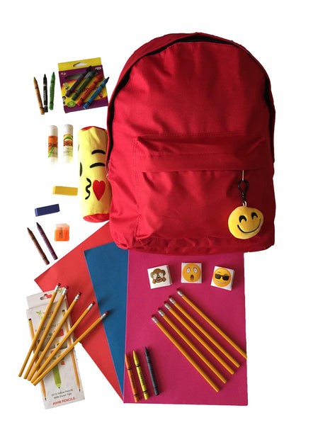 Back to School Supplies for Girls Boys-Cool Emoji Bundle
