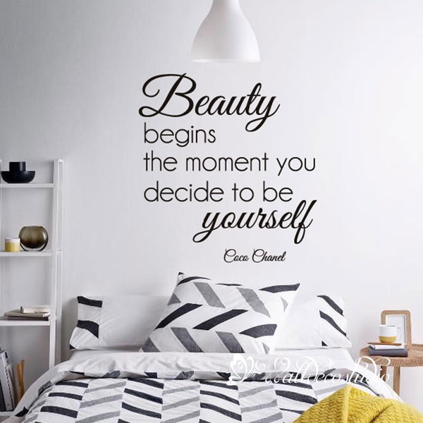 CoCo Chanel Beauty Quote
