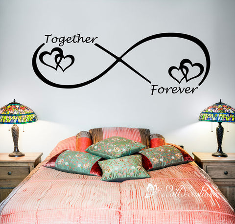 Together Forever Wedding Couple Love Quote