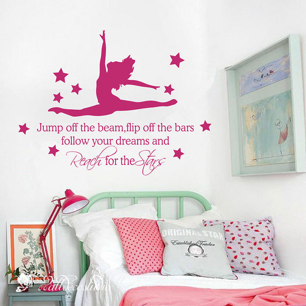 Gymnast Star Inspirational Quote