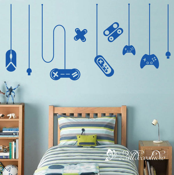 X-Box Gamer Video Game Wall Sticker