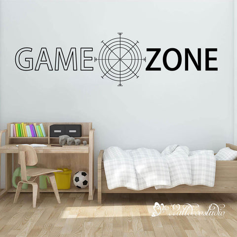 Game Zone for Kid Bedroom