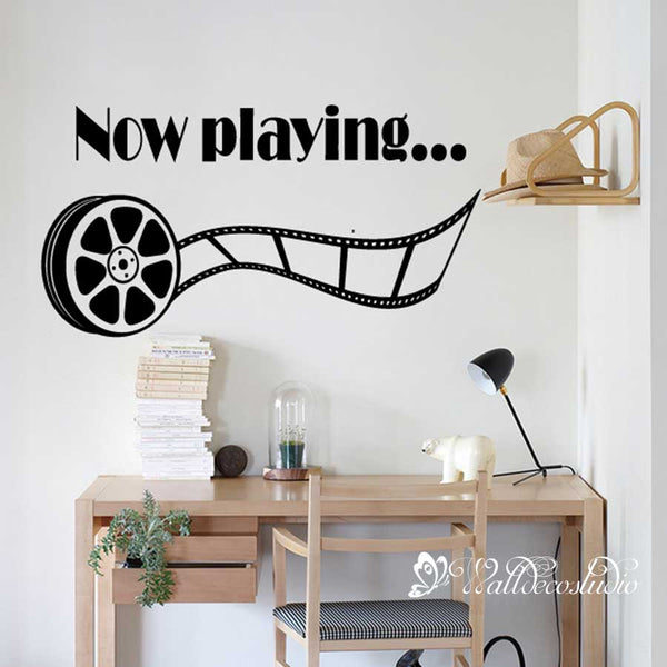 Home Theater Movie Show Wall Sticker