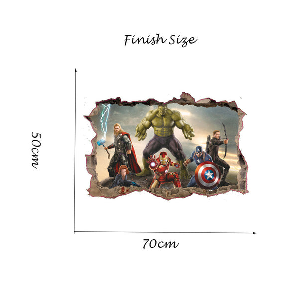 The Avengers Wall Sticker