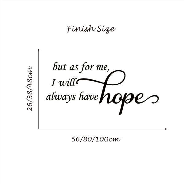 Bible Verse I will Always Have Hope