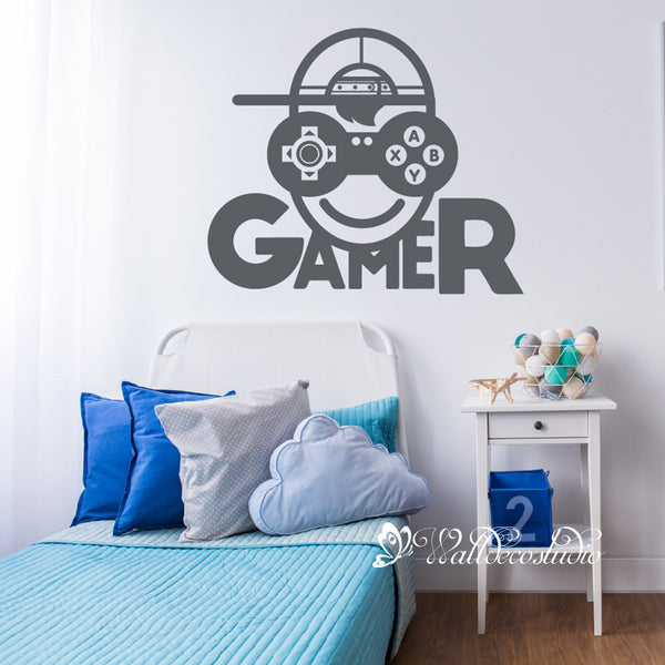 Video Gamer Game Sticker