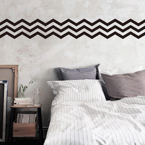 Chevron Stripe Wall Sticker