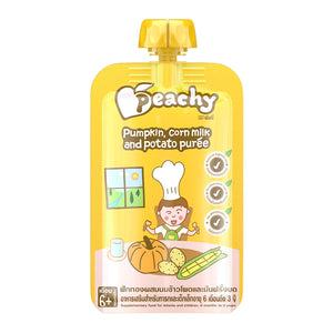Peachy Baby Food - Pumpkin Corn Milk & Potato Puree