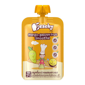 Peachy Baby Food - Mango & Passion Fruit Smoothie