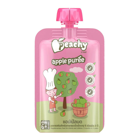 Peachy Baby Puree Apple
