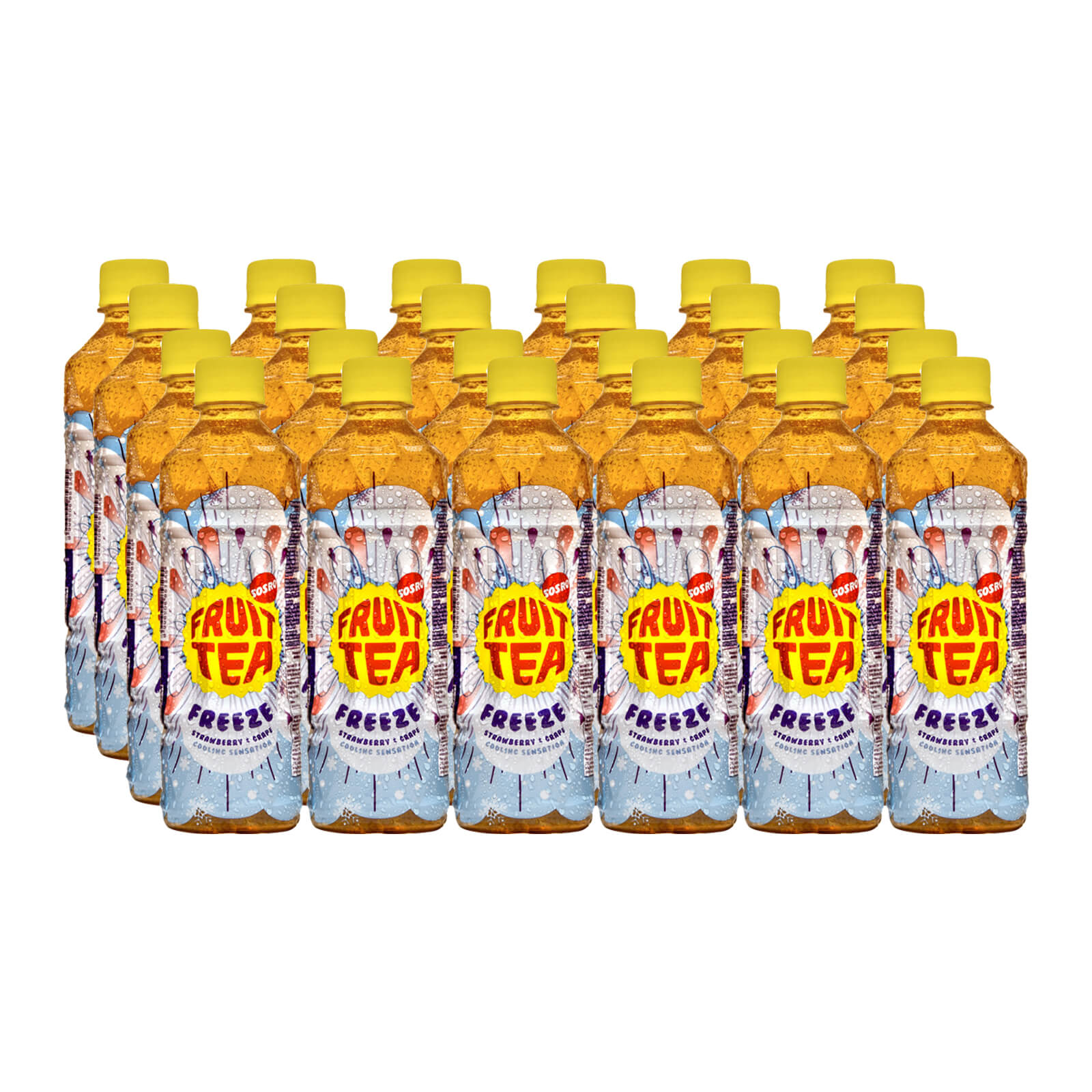 Sosro Freeze Fruit Tea Carton (24 Bottles x 500ml)