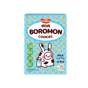 Monesco - Boromon Milk Flavour (6 x 20g)