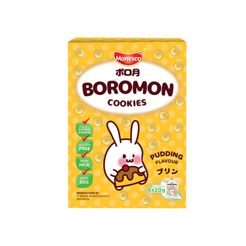 Monesco - Boromon Pudding Flavour (6 x 20g)