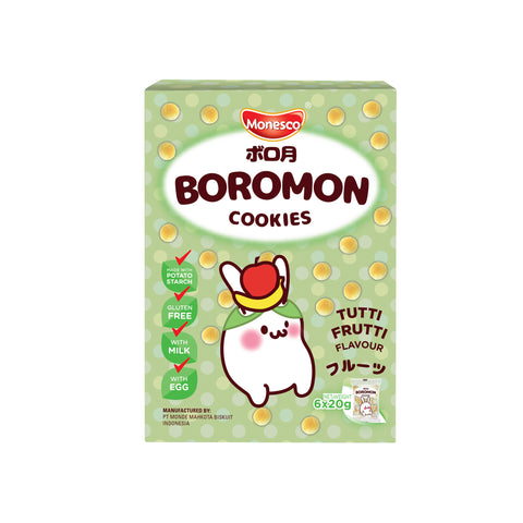 Monesco - Boromon Tutti Fruitti Flavour (6 x 20g)