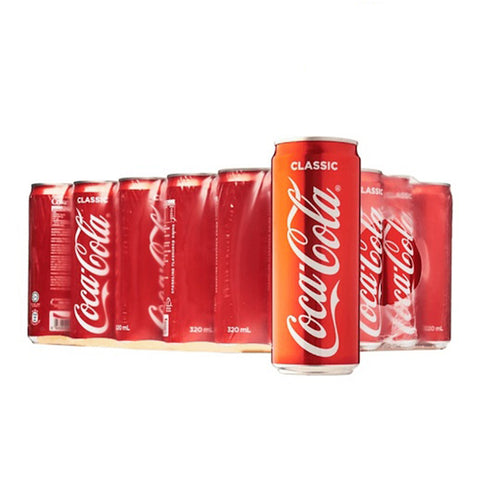 Coca Cola Coke Classic (24 Cans x 320ml)