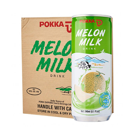 Pokka Melon Milk (30 Cans x 240ml)