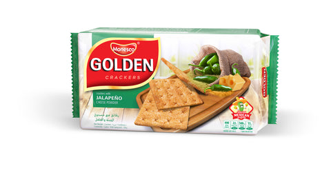 Monesco Golden Malkist Crackers Jalapeno