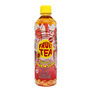 Sosro Apple Fruit Tea Lower in Sugar 500ml