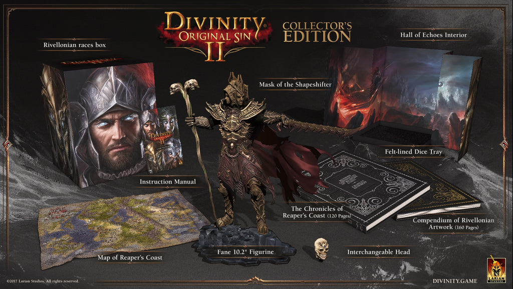 Divinity: Original Sin 2 Collector's Edition (Limited - 1.000 units only)