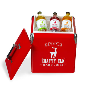 Crafty Elk - RED COOLER