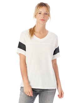 Alternative Apparel 01988E1 Ladies' Powderpuff Eco-Jersey T-Shirt