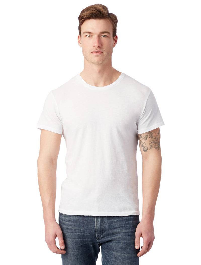 Alternative Apparel 4850 Heritage Garment Dyed Distressed T-Shirt
