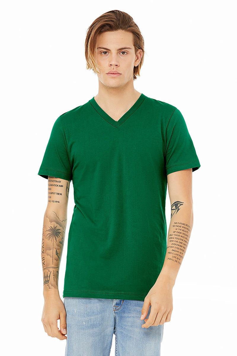 Bella + Canvas 3005 Unisex Jersey Short Sleeve V-Neck Tee