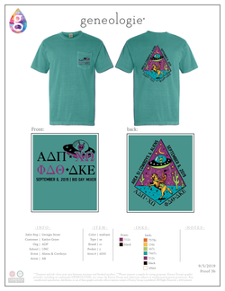 Alpha Delta Pi Aliens & Cowboys $18.25
