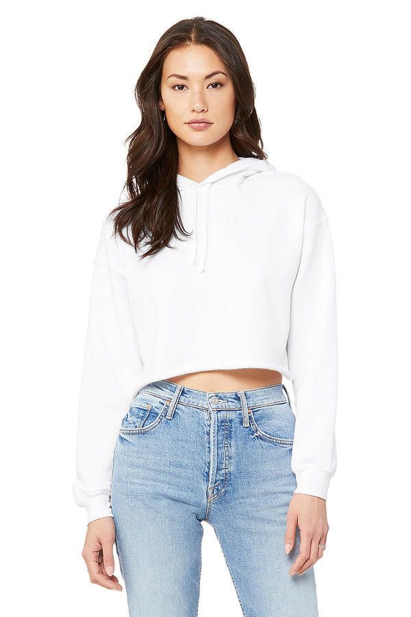Bella + Canvas 7502 Women's Cropped Fleece Hoodie