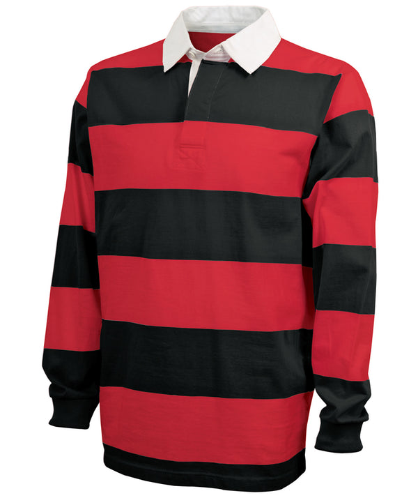 Charles River Apparel 9278 Adult Classic Rugby Shirt