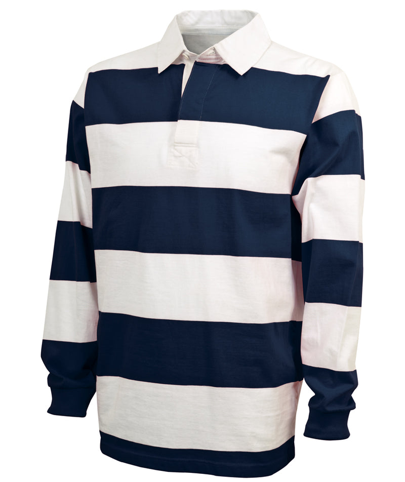 Charles River Adult Classic Rugby Shirt