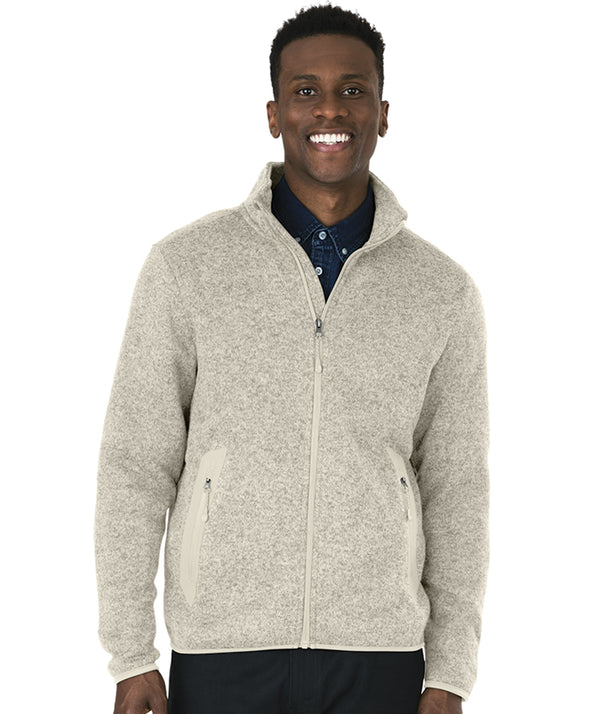 Charles River Apparel 9493 Men's Heathered Fleece Jacket