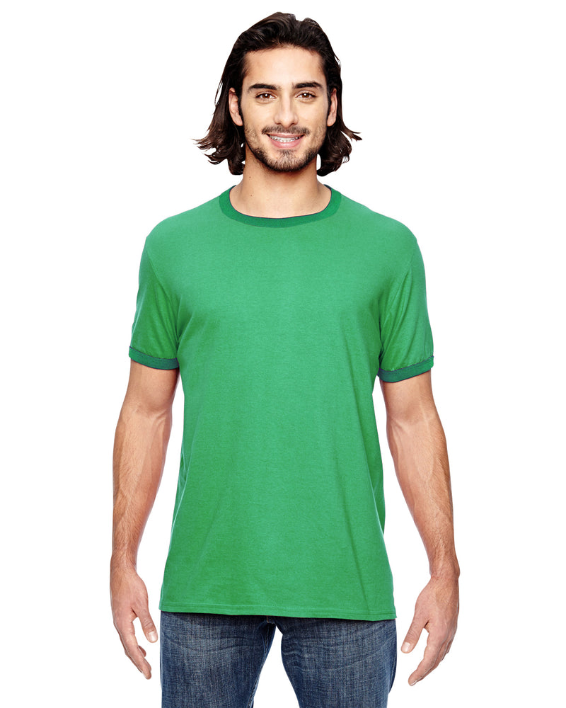 Anvil 988an Anvil Adult Lightweight Ringer T-Shirt